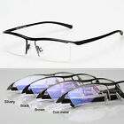 2017 Men Glasses Eyewear Eyeglasses Titanium Frame Halfrim Spectacles Optical RX