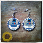 Star Wars bottle cap earrings $5.99 USD