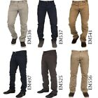 Kyпить ETO Mens Designer Chino Jeans Regular Fit Sizes 28-42 на еВаy.соm