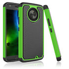 For Motorola Moto X4/X 4th Gen Shockproof Slim Rugged Rubber Hybrid Case Cover