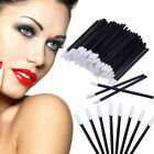 100Pcs Disposable Lip Brush Gloss Lipstick Wands Applicator Brush Makeup Tool