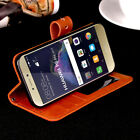 Super Thin Luxury Flip Cover Wallet Card Leather Case For HUAWEI P8 Lite 2017
