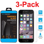 3X Premium Real Screen Protector Tempered Glass For iPhone 6 6s 7 8 Plus x OU