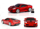 2.4GHz Wireless Optical Ferrari Car Mouse Game Mice + USB Receiver for PC Laptop