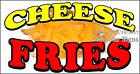(CHOOSE YOUR SIZE) Cheese Fries DECAL Concession Food Truck Vinyl Sticker