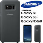 SAMSUNG GALAXY S8 S8+ Plus Note 8 Silky & Soft-Touch Silicone Cover Case - BOXED
