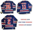BRIAN LEETCH NEW YORK RANGERS JERSEY VINTAGE THROWBACK SIZE LARGE HOME AWAY