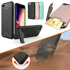 Shockproof Hybrid Hard Armor Case Cover w/ Stand Card Holder F iPhone X/7/8/Plus