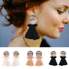 Women Bohemian Long Tassel Earrings Pendant Ear Drop Party Fashion Jewelry Decor