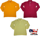 French Toast School Uniform Unisex Long Sleeve Pique Polo Sh