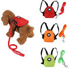 3 Colors Pet Puppy Cat Backpack Outdoor Travel Dog Bag With Leash Cute Dog Bag