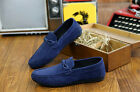 New Fashion Leather Slip On Men Driving Moccasin Loafer Soft Casual Shoes