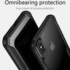 For iPhone X Shockproof Soft Frame Tough Hybrid Armor Full Protection Case Cover