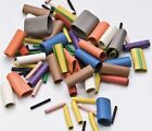 Elastic Rubber Binding Sleeves 5 x 25mm (Pack 20) Various Colours