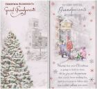Grandparents ~ To Very Special Grandparents / Christmas Blessings Christmas Card