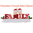 MAXORA Family of 2 3 4 5 Personalized Christmas Ornament  Holiday