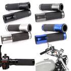 "Universal Motorcycle Aluminum CNC Rubber Gel Hand Grips for 7/8"" 1"" Handle Bars $9.78 USD on eBay"