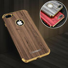 For iPhone 7 /Plus Luxury New Unique Wood Grain Protection Soft Full Cover Case
