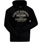 Harley-Davidson Men's Quality Name H-D Pullover Hooded Sweatshirt  R002323 $58.0 USD