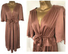 New M&S Antique Rose Gold Dress Size 6-22 Midi Marks & Spencer Party Occasion