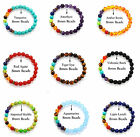 7 Chakra Healing Balance Beaded Bracelet Natural Stone Yoga Reiki Prayer Pick image