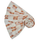 NEW Cocker Spaniel  Dog Print Scarf Wrap in Choice of Colours Latest Design