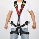US Outdoor Body Safety Rock Climbing Arborist Tree Rappelling Harness Seat Belt.