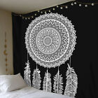 US Bohemian Mandala Indian Tapestry Hippie Wall Hanging Bedspread Mat Blanket