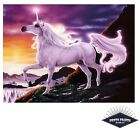 Sunset Fantasy Unicorn Poster Quality Print on 260gsm Premium Poster Paper