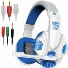 3.5mm Gaming Headset Microphone LED Light for PS4 Laptop Computer Cellphone