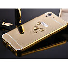 Luxury Mirror Back Cover   Metal Aluminum Frame Case for Huawei Honor Y6