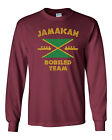 394 Jamaican Bobsled Team Long Sleeve Shirt costume funny 90s movie rasta reggae