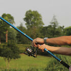 Portable Carbon Fiber Telescope Fishing Rod Travel Sea Water Spinning Pole 2.1m