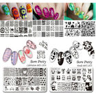 Born Pretty Nail Art Stamping Plates Various Rectangle Image Template Collection