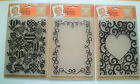 """Leonie Pujol Entwined 5""""x7"""" Embossing Folder - You Choose Design - Free Postage"""