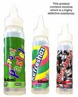 Premium E Liquid Old Skool TPD 0mg & With Nic Shot 5X10ml Delicious Juice