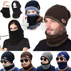 Red Mens Motorcycle Bike Balaclava Mask Top Covers Accessories