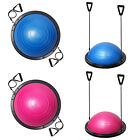 Bosu Ball Balance Trainer Yoga Stabilizer Pilates Fitness Resistance Bands