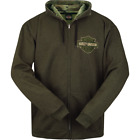 Harley-Davidson Men's Trade Mark Front Zip Sweatshirt R002324 $60.0 USD