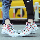 Fashion Men's Shoes Ankle Boots Autumn Outdoor High Top Running Sports Athletic