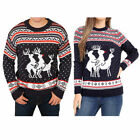 Christmas jumper threesome reindeer humping orgy rude sweater plus size xxxl big
