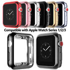 PASBUY 86C Flexible Electroplate Protector case for Apple Watch Series 3/2/1