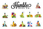 Humble Juice Co Hustle Plus Premium Liquid E-Liquid 100/120ml Shake and Vape DIY