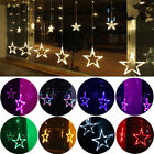138LED Romantic Star String Fairy Curtain Light Wedding Xmas Valentine's day