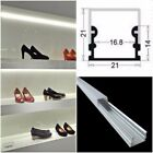 5 - 25 X 1 Metre EXTRA WIDE Aluminium Profile + Accessories for LED Strips