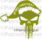 Punisher Skull,Merry Christmas,Guns,Molon Labe,2A,Punisher,Stickers,Vinyl Decal