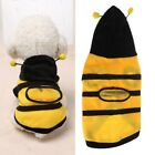 Pet Clothes Cute Bees Dog Cat Fleece Soft Poodle Clothing Teddy Product Supplies