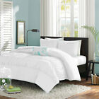 5pc Center Ruffle Duvet Set Egyptian Cotton Single/Double/King/Super/Emperor
