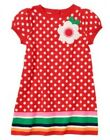 NWT Gymboree Brightest in Class Smart Little Lady Red Dress Size 12-24mos