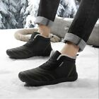 Mens Winter Snow Boots Outdoor Sports Casual High top Warm With velvet Shoes